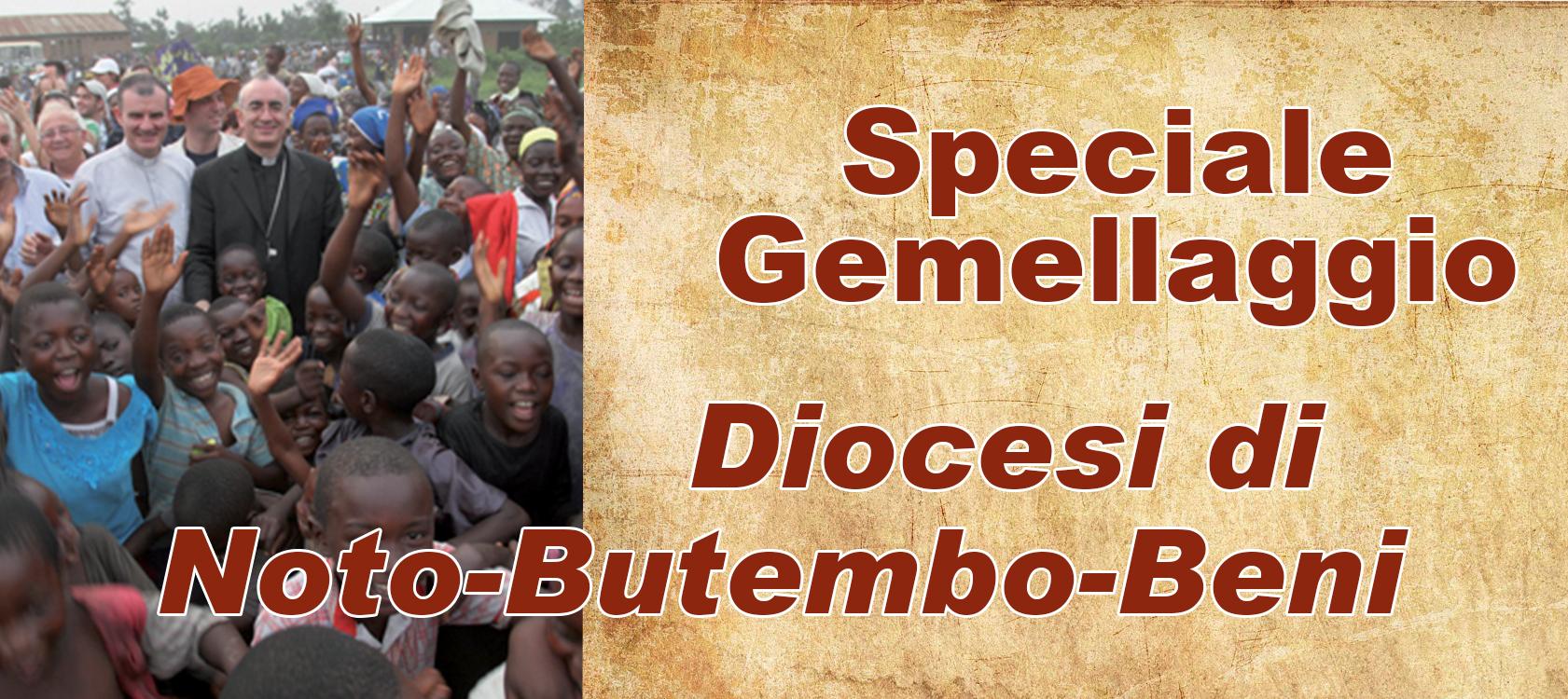 GEMELLAGGIO NOTO-BUTEMBO BENI